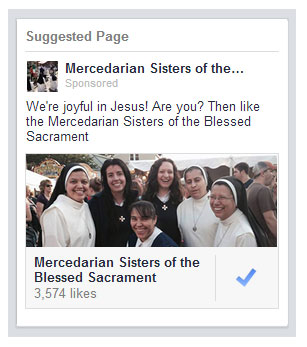 We're joyful in Jesus. The Mercedarian Sisters